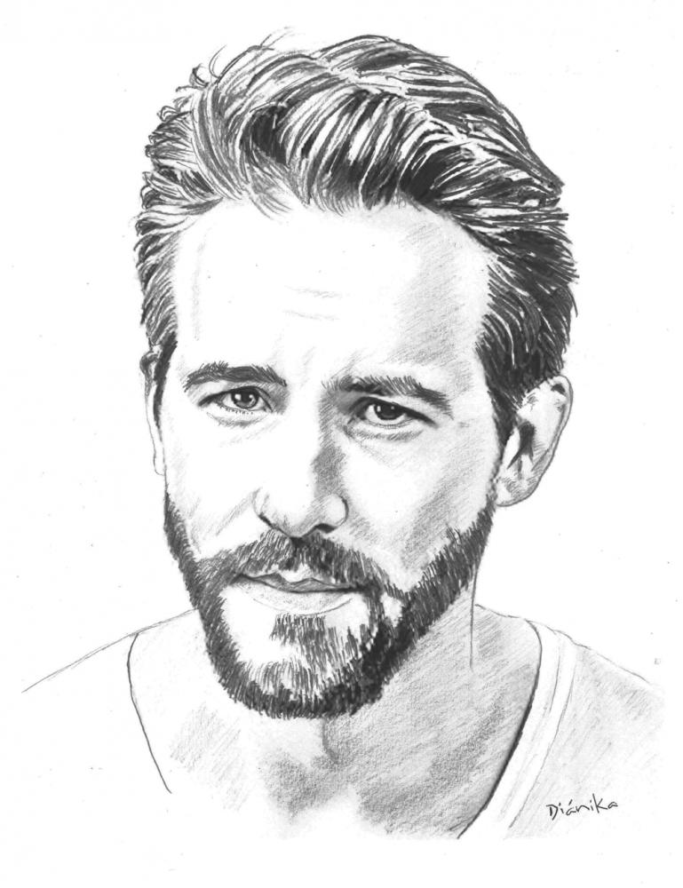 Ryan Reynolds by Dianika
